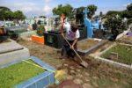 Limpieza de Cementerios